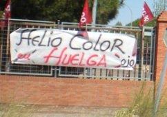 Seguimiento del 100% en la huelga por el pago de los salarios en Heliocolor