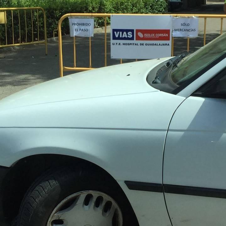 """Robisco denuncia que """"la incapacidad de Page provoca el caos en el Hospital de Guadalajara"""""""