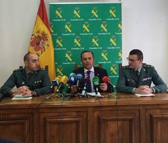 La Guardia Civil desmantela una organización criminal que robaba en El Casar y alrededores
