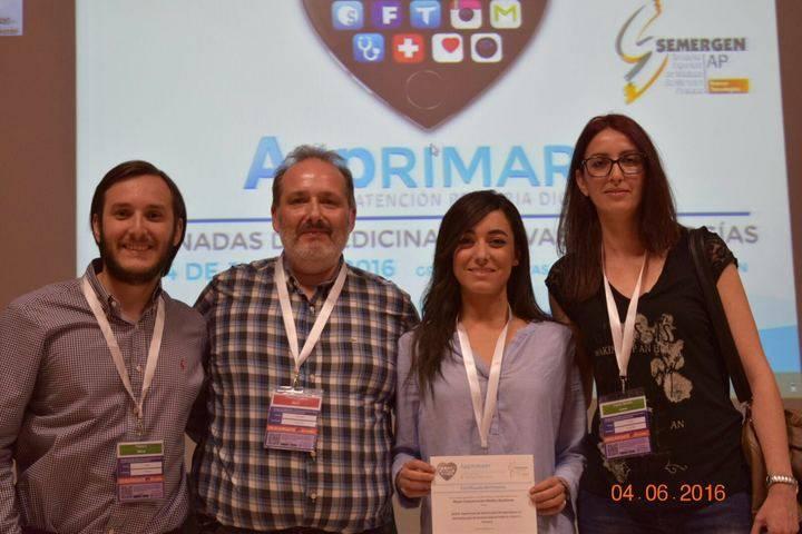 Semergen premia a profesionales de Azuqueca de Henares en sus Jornadas Nacionales de Nuevas Tecnologías y Medicina
