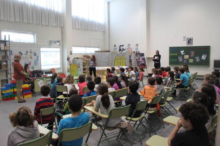 Arranca la fase local de la Liga de los Libros, con los primeros torneos en el Colegio Los Olivos de Cabanillas