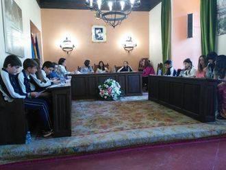 Celebrado el último pleno infantil del curso escolar 2015-2016 en Sigüenza