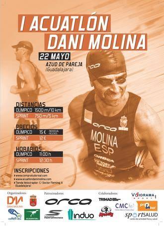 Este domingo, I Acuatlón 'Dani Molina' en Pareja