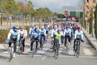 La II Marcha Cicloturista Homenaje a José Luis Viejo superó los 400 participantes