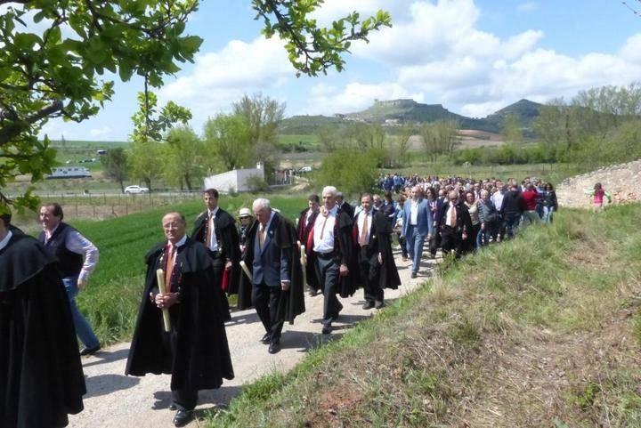 El presidente de la Diputación asiste a la Caballada de Atienza, fiesta de Interés Turístico Nacional