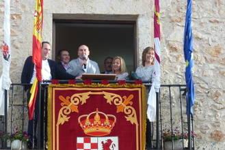 El presidente de la Diputación pregona las Fiestas Patronales de Fuentenovilla