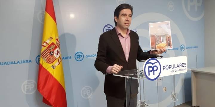 """Robisco: """"La ineficacia de Page pone en peligro el convenio sanitario con Madrid y con ello la salud de los guadalajareños"""""""