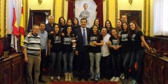 El Ayuntamiento de Guadalajara no dejará tirado al Motorsan Voley en su reto de la Superliga