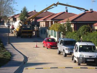 Esta semana se han iniciado las obras de reasfaltado en la urbanización 'San Bartolomé' de Yebes