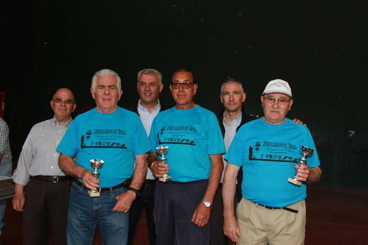 Pastrana vence en el campeonato de bolos billa de La Alcarria