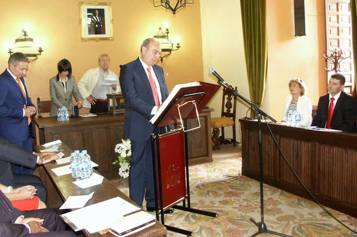 Un año de ilusión, de trabajo y de unión por Sigüenza, según su alcalde