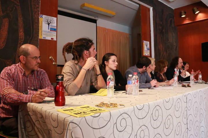 El II Foro Encuentro Regional de Podemos Castilla-La Mancha reúne en Cuenca a los diputados Alberto Rodríguez e Isabel Franco