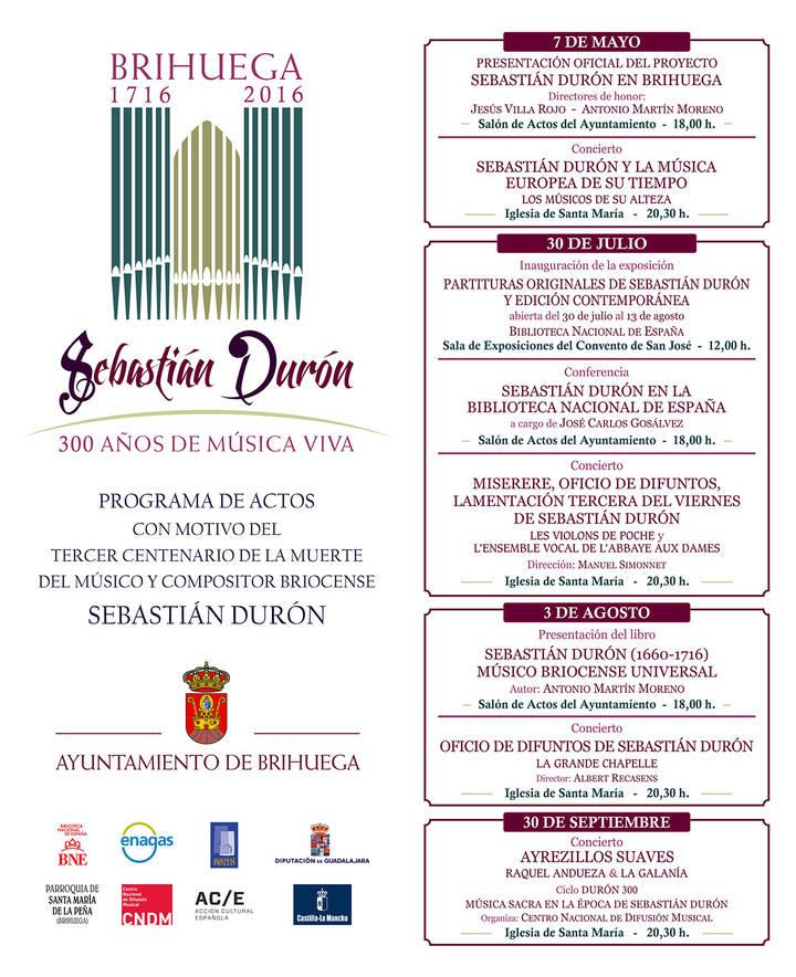 Sebastián Durón, trescientos años de música viva