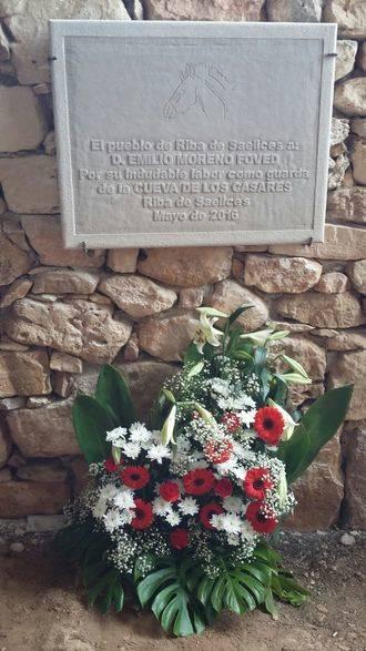El pueblo de Riba de Saelices recuerda a Don Emilio Moreno