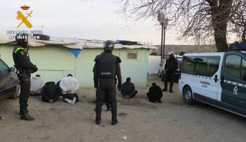 La Guardia Civil interviene 15 toneladas de cobre robado, parte en Guadalajara