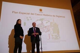 El nuevo Plan Especial del casco histórico pretende crear vida en el corazón de Sigüenza