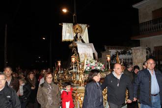 Escariche celebró con devoción su fiesta patronal en honor a la Virgen de las Angustias