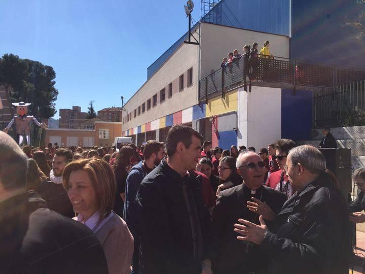Antonio Román da la bienvenida a los participantes en el Encuentro de Jóvenes Cristianos de Castilla La Mancha