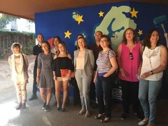 El colegio Río Tajo celebra un encuentro transnacional dentro de un proyecto Erasmus con la colaboración de la Escuela de Arte