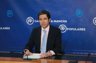 """Robisco denuncia que """"Page va a consumar mañana una cacicada para freír a impuestos a los dos millones de castellano-manchegos"""""""
