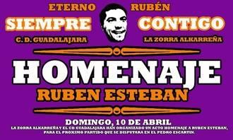 El Dépor y la Zorra Alkarreña se unen para rendir homenaje a Rubén Esteban López