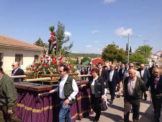 Soleada mañana para festejar a San Isidro en Cabanillas