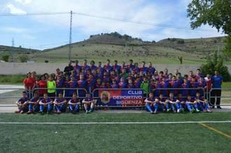 El Sigüenza se impone por 3-0 a un Almoguera que intentó jugar al fútbol en La Salceda