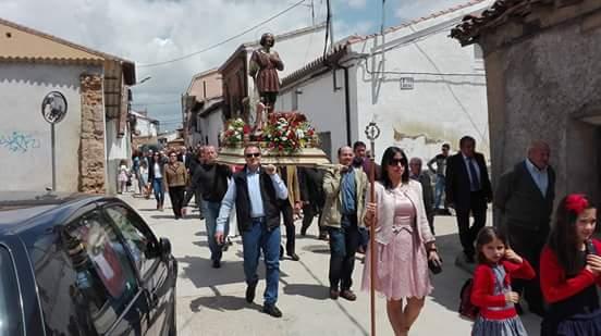 Málaga del Fresno disfrutó de la festividad de San Isidro