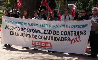 1.300 personas se manifiestan en Guadalajara para celebrar el 1 de Mayo