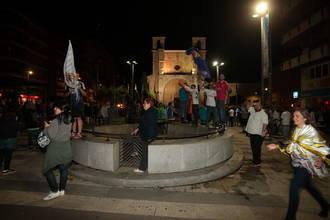 Cientos de guadalajareños inundan la plaza de Santo Domingo para celebrar la Undécima
