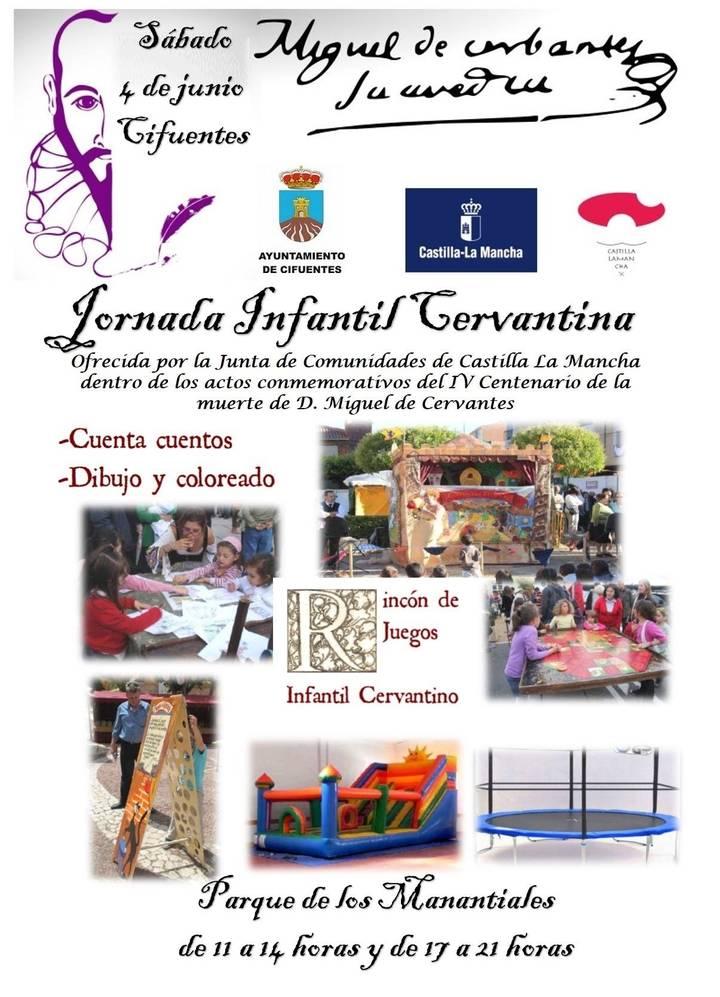La población infantil de Cifuentes se acercará a Miguel de Cervantes