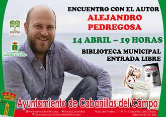 Encuentro de lectores con el autor Alejandro Pedregosa, en la Biblioteca de Cabanillas
