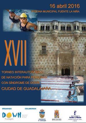 XVII Trofeo Interautonómico de Natación Ciudad de Guadalajara para personas con Síndrome de Down