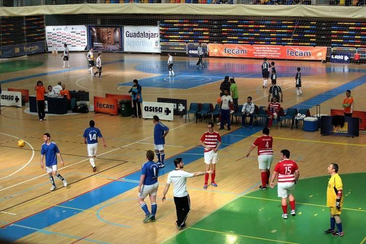 Más de un centenar de deportistas de Castilla-La Mancha disfrutaron del Fútbol Sala en Guadalajara