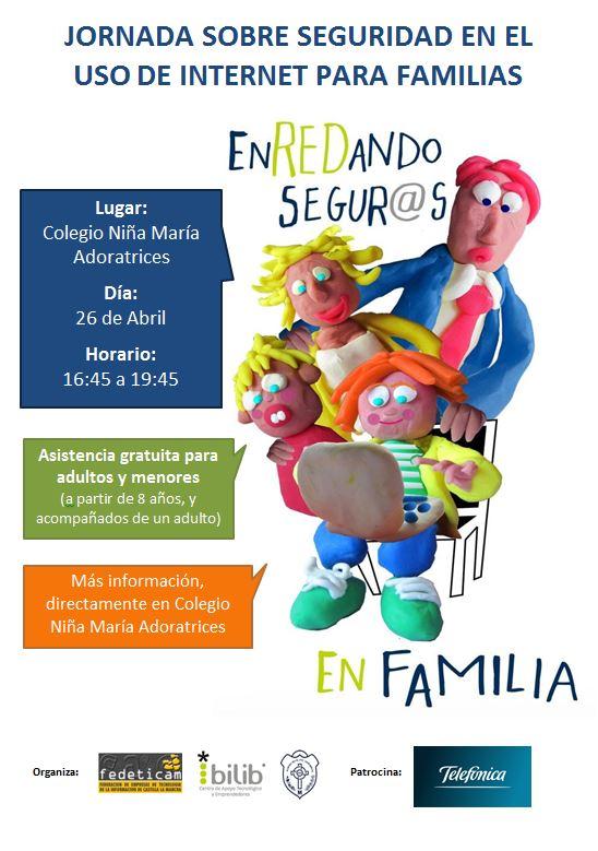 Fedeticam organiza una Jornada de Seguridad Informática para menores y adultos en el Colegio Niña María Adoratrices