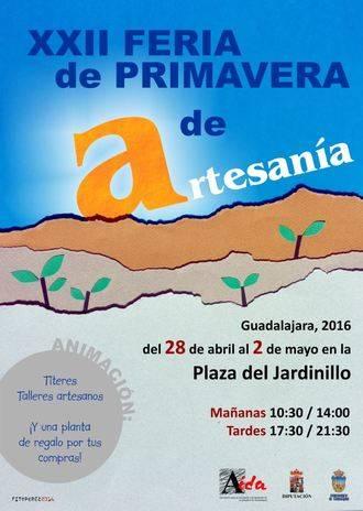 Guadalajara se prepara para su XXII Feria de Artesanía de Primavera