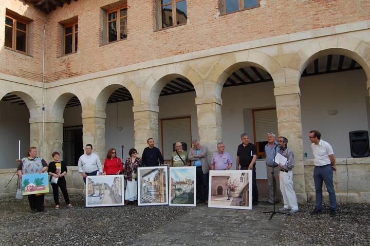 Cifuentes acogió el pasado sábado su XXI Certamen Internacional de Pintura Rápida