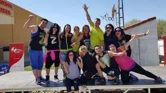 Más de 250 personas participaron en la jornada deportiva solidaria 'Sonrisas para Javier' en Alovera