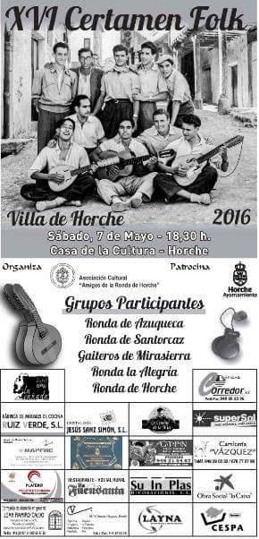 """Cuatro rondas y un grupo de gaiteros participan este sábado en el XVI Certamen Folk """"Villa de Horche"""""""