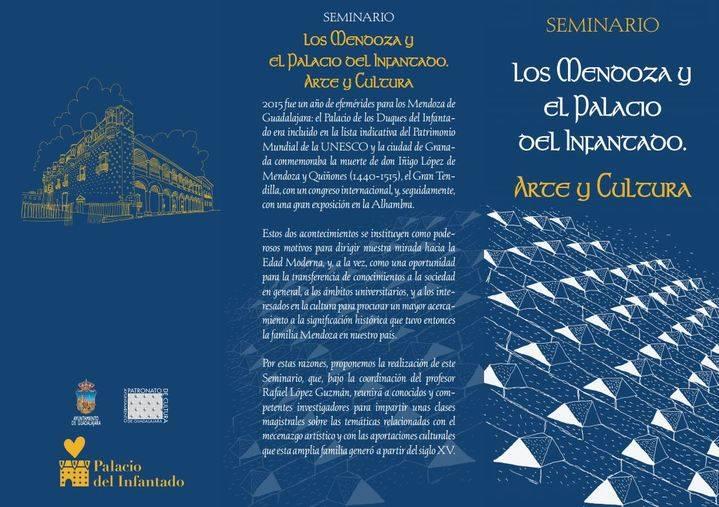 """El Patronato de Cultura organiza el seminario """"Los Mendoza y el Palacio del Infantado"""""""