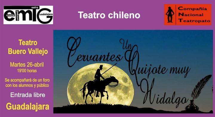"""""""Cervantes, un Quixote muy hidalgo"""", este martes en el Buero Vallejo"""