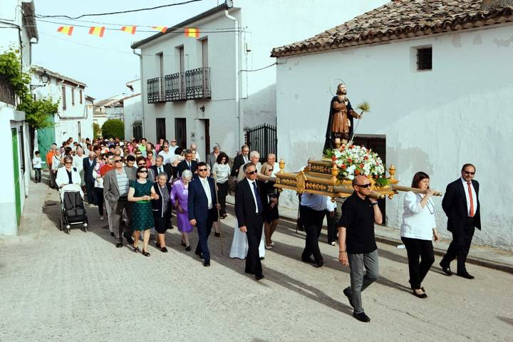 Fuentenovilla vivirá con intensidad sus fiestas en honor a San Isidro y a la Virgen del Perpetuo Socorro