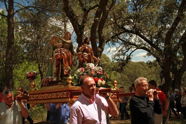 Los trillanos celebran este sábado su popular Romería de San Isidro