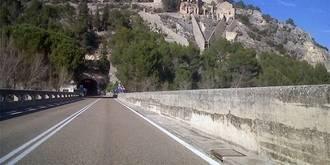 Un accidente obliga a cortar el tráfico en el túnel del embalse de Entrepeñas