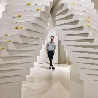 Juan Carlos Pajares coloca a la moda en el estatus de arte
