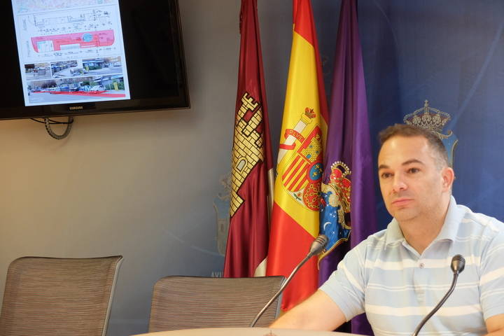 El Ayuntamiento de Guadalajara inicia los trabajos de mejora de 26 paradas de autobuses