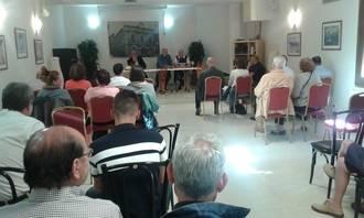 """El periodista Antonio Pérez Henares también estuvo en Jadraque con su """"El Rey Pequeño"""""""