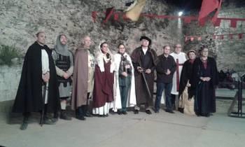 Espléndidas celebraciones de San Juan en Jadraque con cena medieval, premios y hoguera