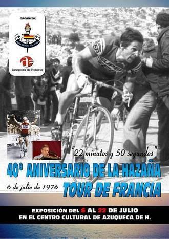 Exposición homenaje en Azuqueca a un histórico del ciclismo: José Luis Viejo