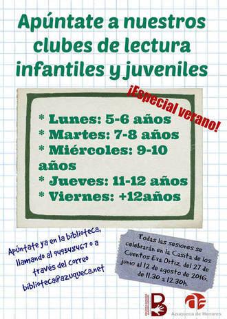 Últimos días para inscribirse en las actividades de verano de la Biblioteca Municipal de Azuqueca